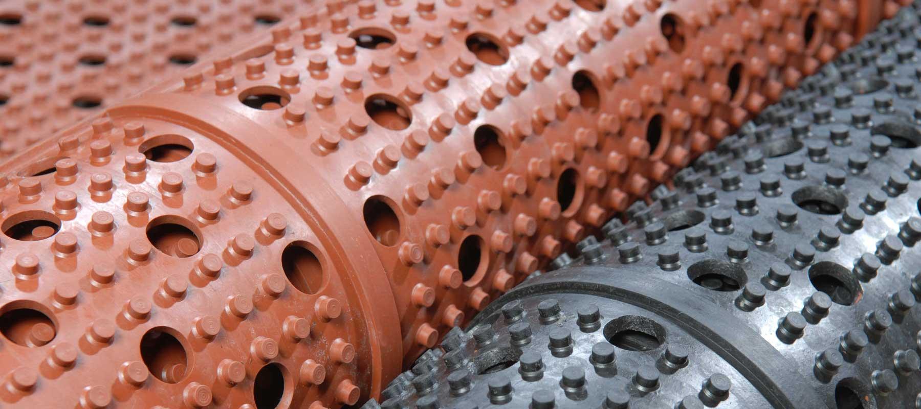 running drainage mat